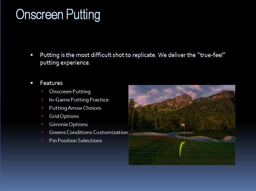 Gsa Advanced Golf Simulators E6 Software
