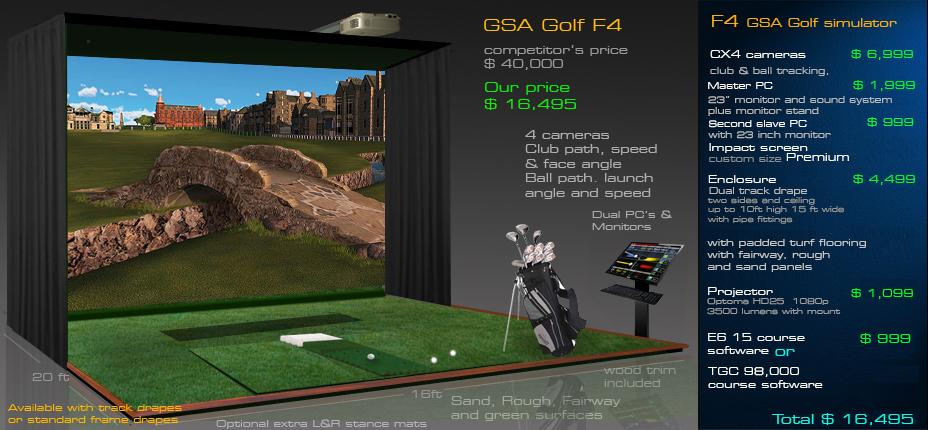 how to build a golf simulator enclosure