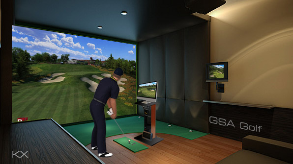 Gsa Advanced Golf Simulators Kx Console