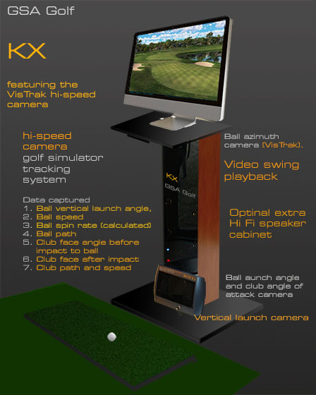GSA Advanced Golf Simulators: KX Console