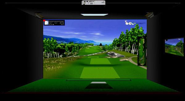 Bilderesultat for simulator golf