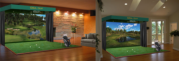 Golf Simulator For Sale >> Gsa Advanced Golf Simulators Home