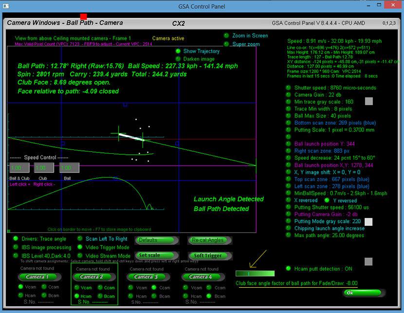 GSA Advanced Golf Simulators: FX series