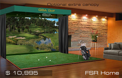 Gsa Advanced Golf Simulators Fx Series