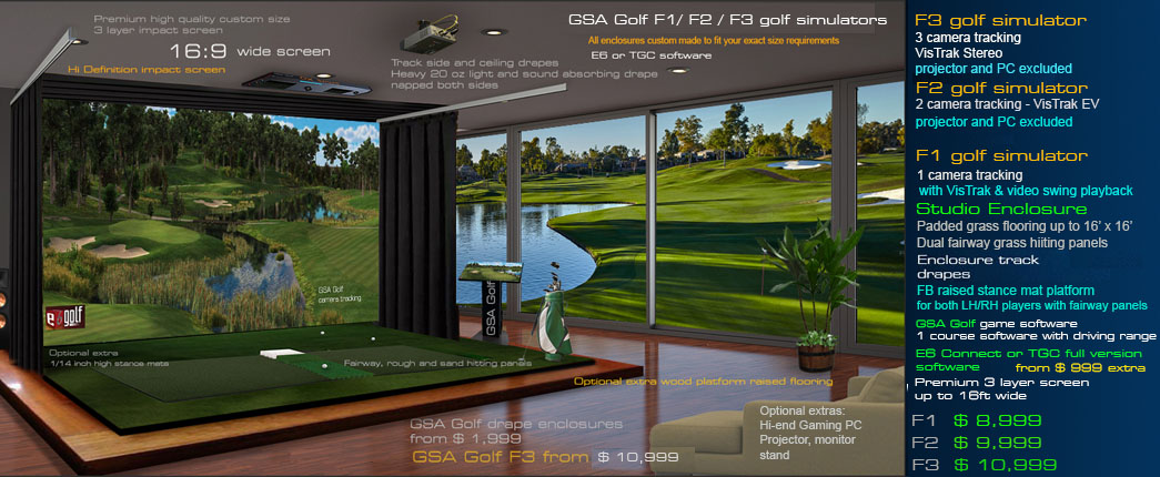 Gsa Golf World Cl Simulators You Can Afford