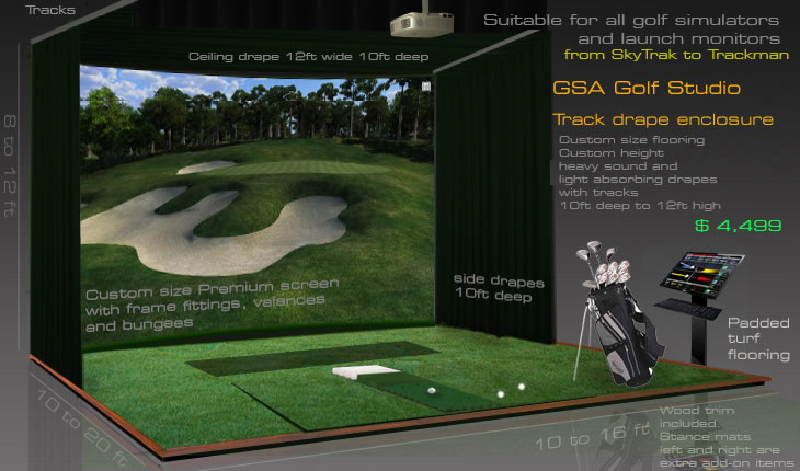 Gsa Advanced Golf Simulators Home