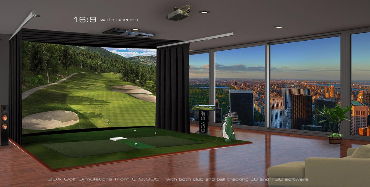 Gsa Advanced Golf Simulators Fx Series