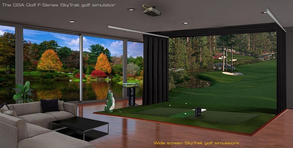 Gsa Advanced Golf Simulators Gc2 Skytrak