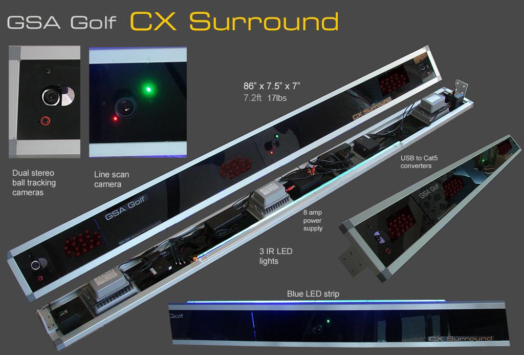 GSA Advanced Golf Simulators: Circuit boards